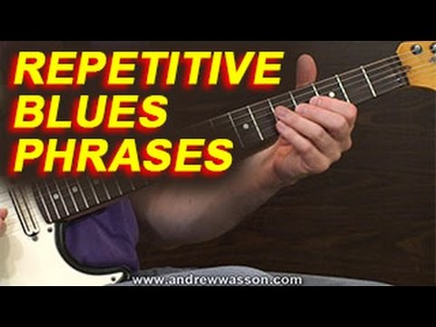 Repetitive Blues Phrases