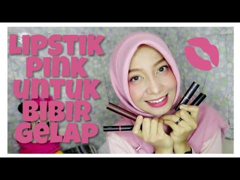 rekomendasi-lipstik-pink-untuk-bibir-gelap