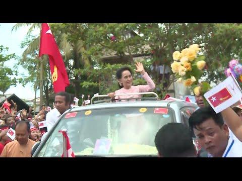 Myanmar General Election Campaign Heats up