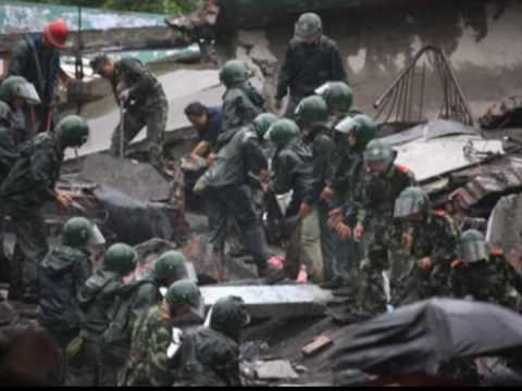 China Sichuan Earthquake 12.5.2008 - Slideshow video.