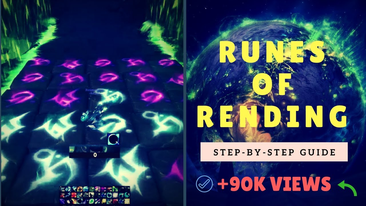 Runes Of Rending How To Complete Step By Step Wow Quest Guide Help