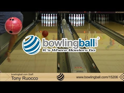 Bowlingball.com Track Paradox Red Bowling Ball Reaction Video Review