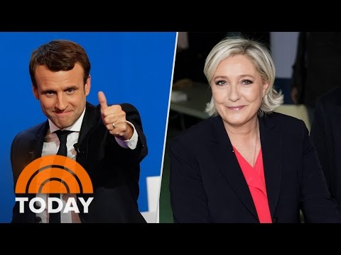 France Goes To The Polls To Choose Marine Le Pen Or Emmanuel Macron | TODAY