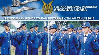 Pendaftaran Bintara TNI AU 2015