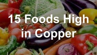 15 Foods High In Copper