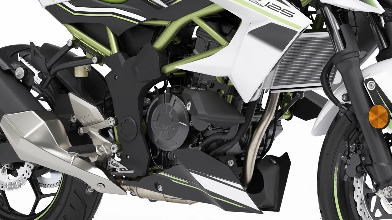 2019 Kawasaki Z125 New All Available Colors Review Youtube Look