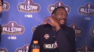 Deandre Jordan gets roasted by Jarrius Robertson