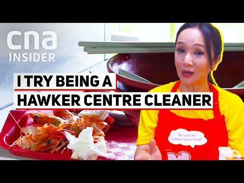 What's Being A Hawker Centre Cleaner Like In Singapore?