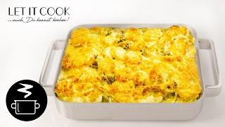 Kartoffel Brokkoli Gratin - Zubereitung und Zutaten