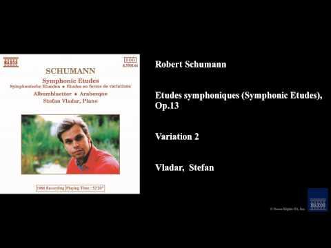 Robert Schumann, Etudes symphoniques (Symphonic Etudes), Op. 13, Variation 2 mp3