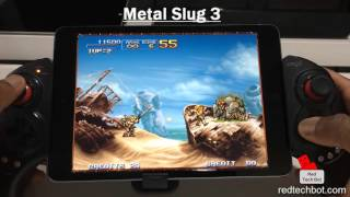 iPEGA 9023 Gamepad Demo with the Apple iPAD Mini (iOS)