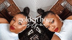 GOLDEN HOUR SELFIE MAKEUP | Cynthia Gwebu