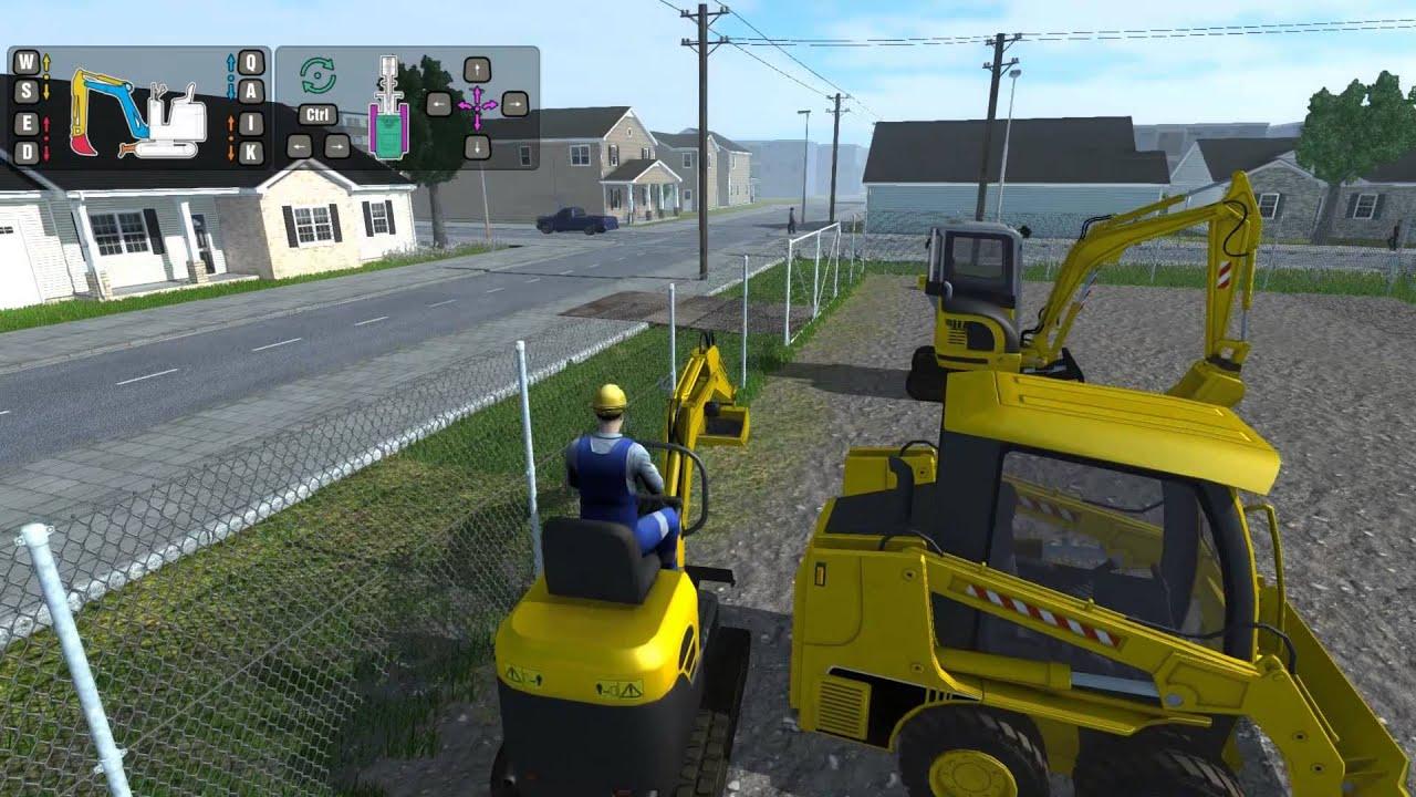 играть симулятор экскаватора онлайн