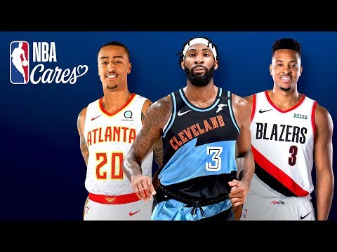 A Message From John Collins, CJ McCollum & Andre Drummond