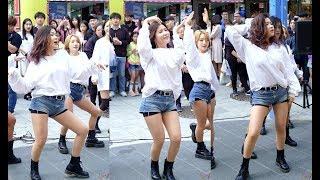 2018.04.29 댄스팀 유에이(U.A): 소이 - Roller Coaster #홍대앞 걷고싶은거리 버스킹#