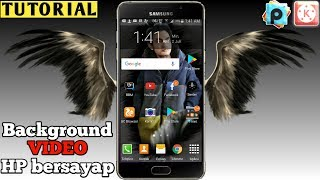 cara edit video background Hp bersayap   TUTORIAL KINEMASTER