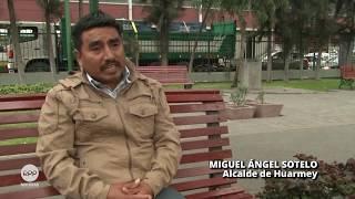 Miguel Ángel Sotelo, alcalde de Huarmey: