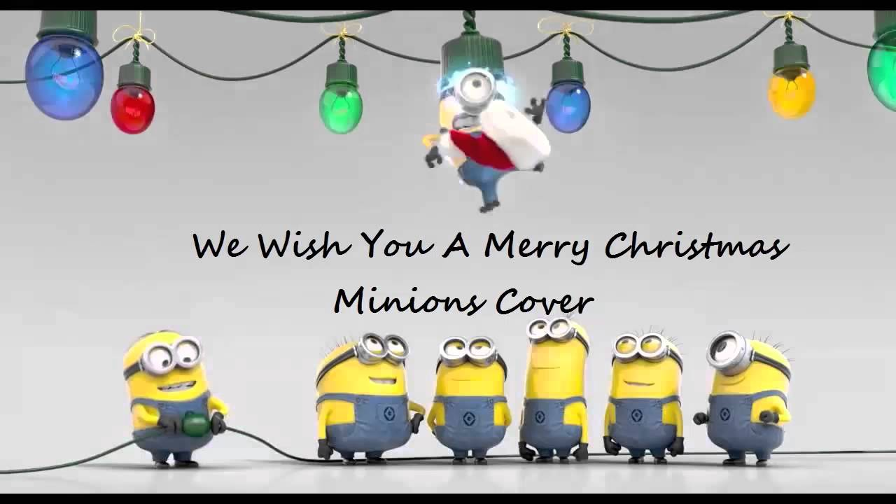 we wish you a merry christmas minions cover - Minions Merry Christmas