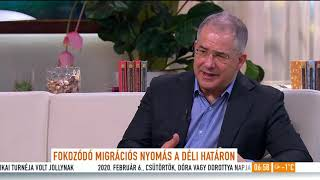 Kósa Lajos: Felkészültek a hatóságok a migrációs nyomásra