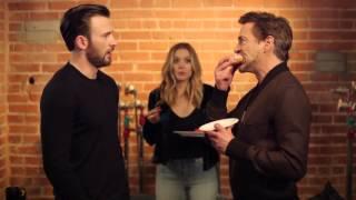 Последний пончик /  The last donut (2016, Tony Stark vs. Steve Rogers)