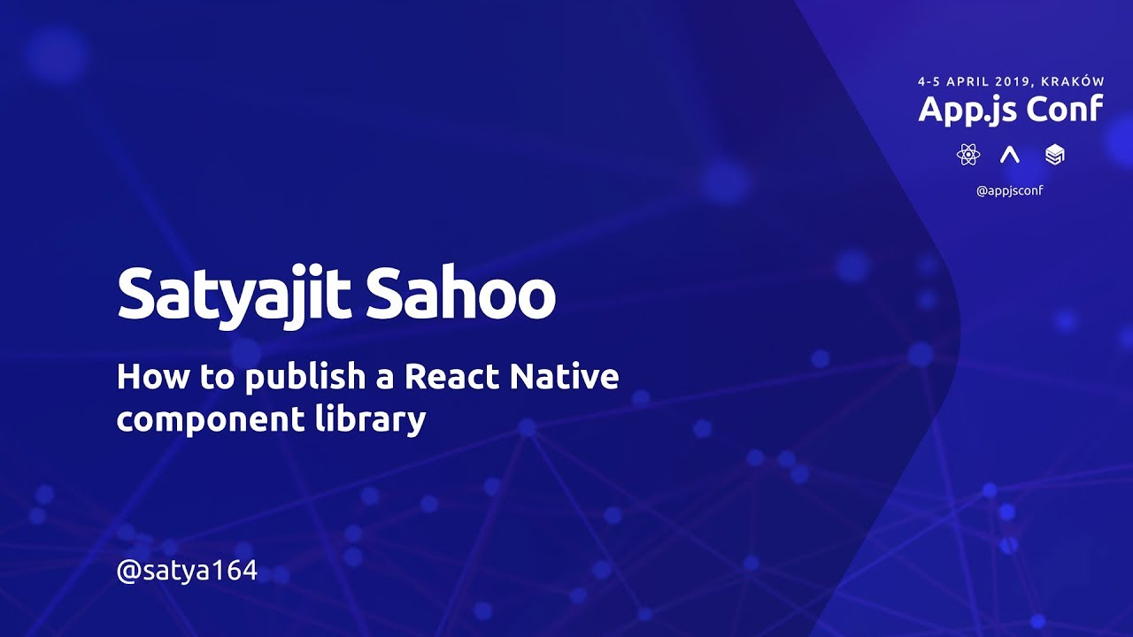 Building Component Libraries for React Native apps