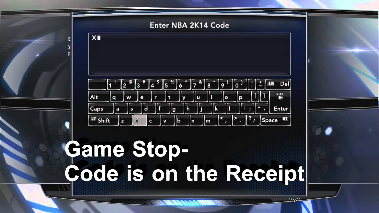 <b>NBA 2K14</b>: GameStop Pre-Order Bonus: How To Enter The <b>Codes</b>- 10k VC ...