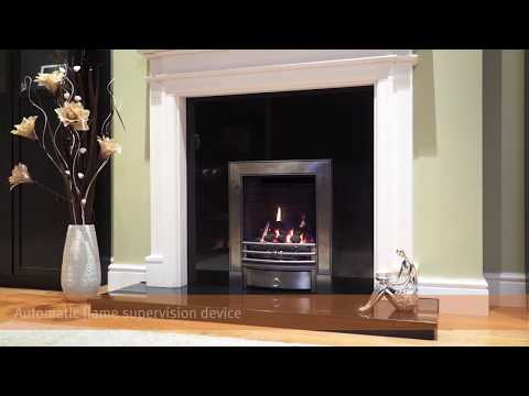Soho Chrome Gas Full Depth Fire (Manual control)