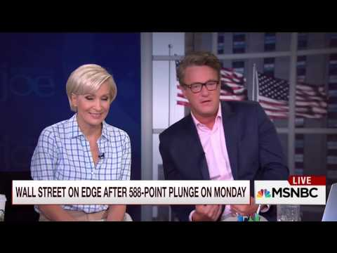 Mike Barnicle on the financial fallout tied to China's weakening market (25 August 2015)