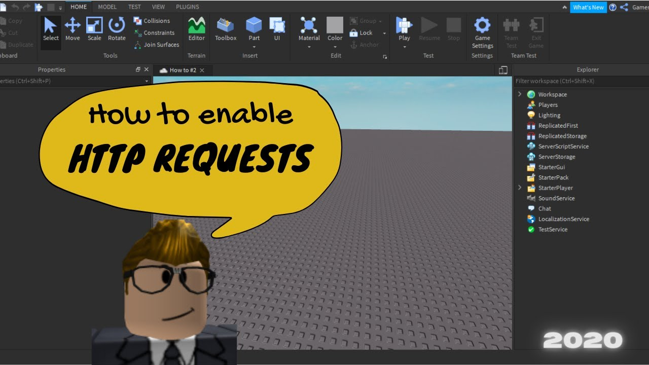 How to Enable HTTP Requests | ROBLOX