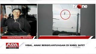 Viral! Anak Bergelantungan di Kabel Sutet, Ini Kronologinya | tvOne