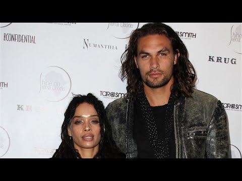 Zoe Kravitz Cuddles With 'Papabear' Jason Momoa