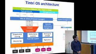 Mark Gritter and Edward Lee present the Tintri VMstore architecture