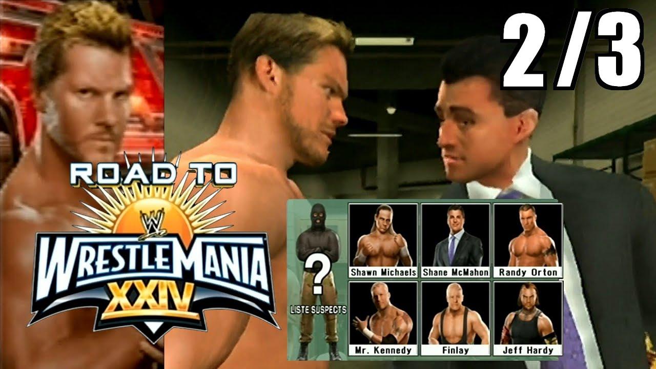 SmackDown vs Raw 2009 - Road to Wrestlemania : Chris Jericho - 2/3 : Qui est l'homme masqué ?