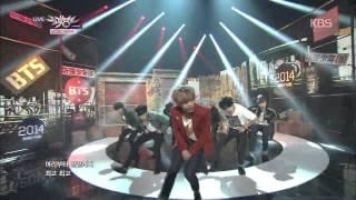 HIT 뮤직뱅크 방탄소년단 BTS 호르몬 전쟁 War of Hormone 20141107