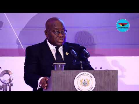 President Akufo-Addo's full speech at Ghana CEO Summit - Part 1