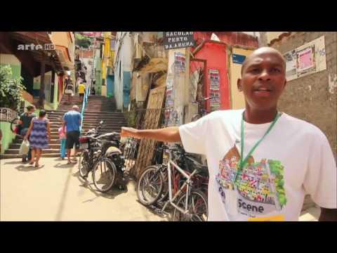 Reise durch Amerika - Brasilien - Favelas und Samba  Doku HD