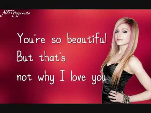 Avril Lavigne- I Love You Lyrics