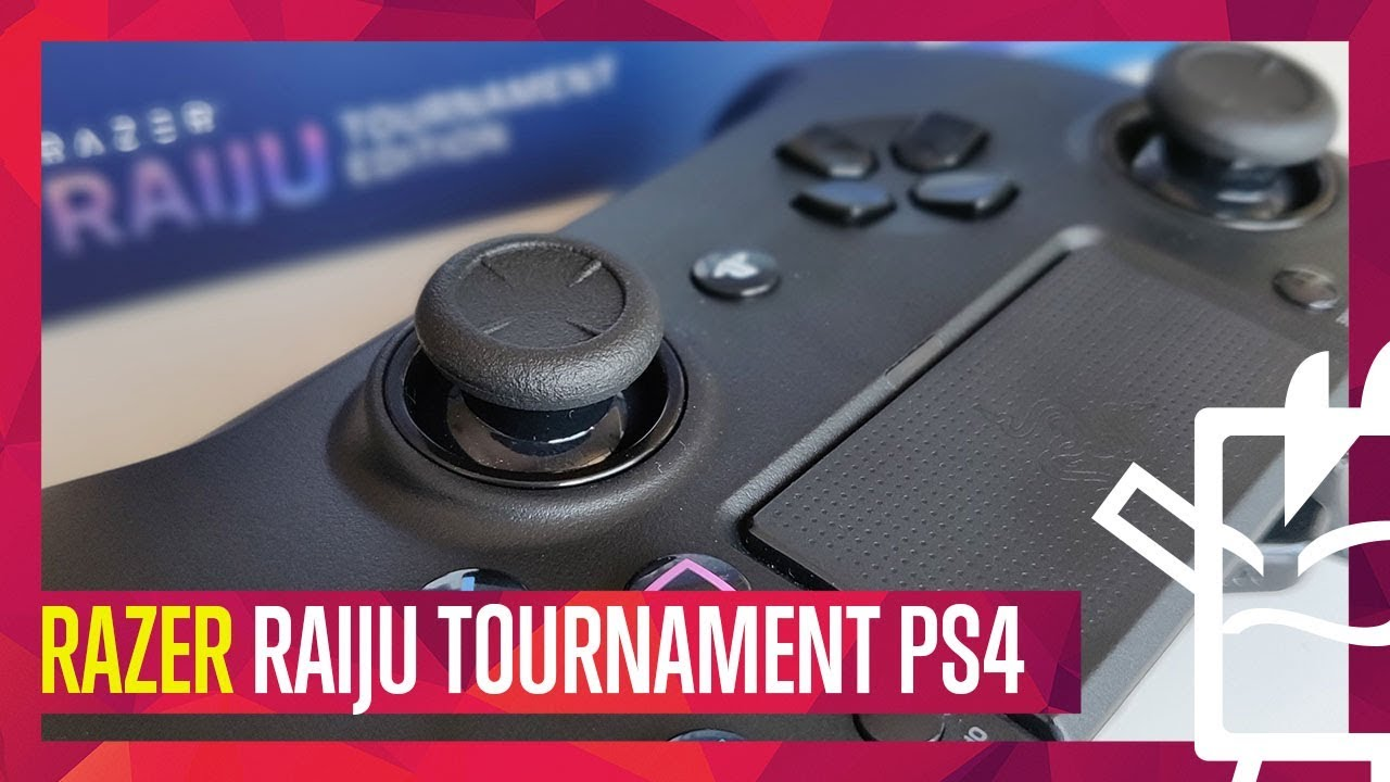 Razer Raiju Tournament Edition PS4 Unboxing Testing