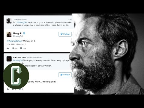 Logan Director James Mangold Working on Black and White Version of the Movie - Collider Video