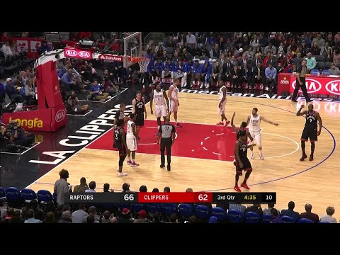 3rd Quarter, One Box Video: Los Angeles Clippers vs. Toronto Raptors
