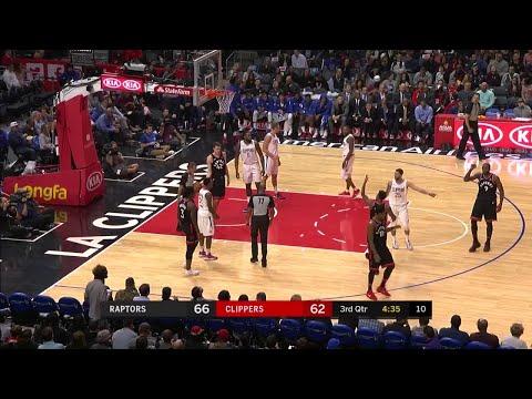 3rd Quarter, One Box Video: Los Angeles Clippers vs. Toronto Raptors