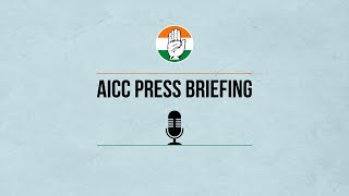 AICC Press Briefing By P. Chidambaram at Congress HQ on The Economic Crisis in India