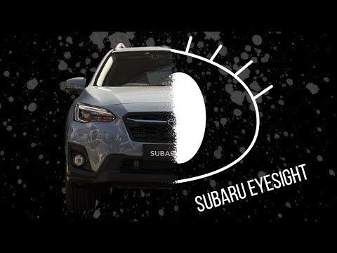 Subaru EyeSight Test Run