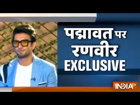 India TV Exclusive: Ranveer Singh talks about Padmaavat, marriage and more