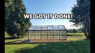 Building the Greenhouse in 3 minutes!