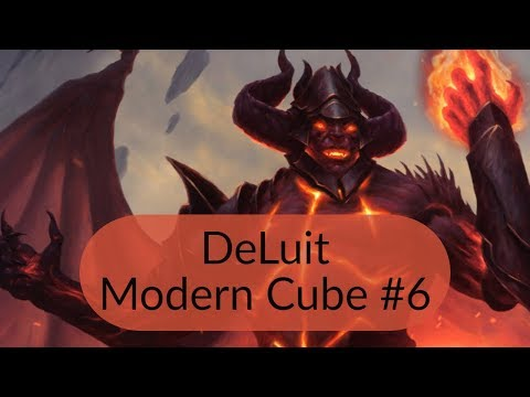 Modern Cube draft #6