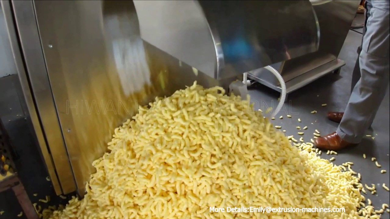 Corn Sticks Food Making Machine Production Line Products With Numerous Shapes