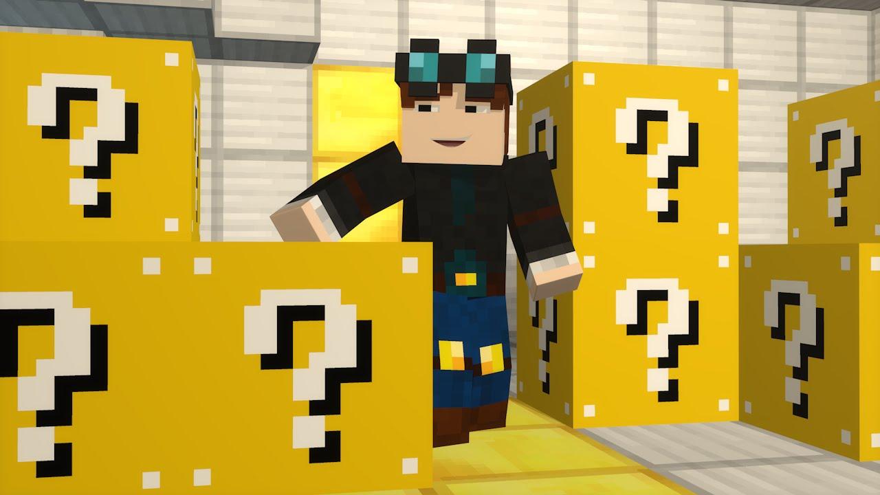 TDM Lucky Block Mod (Minecraft Fan Animation) - YouTube