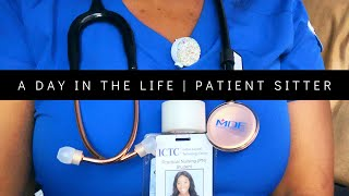 Day In The Life | MICU Patient Sitter