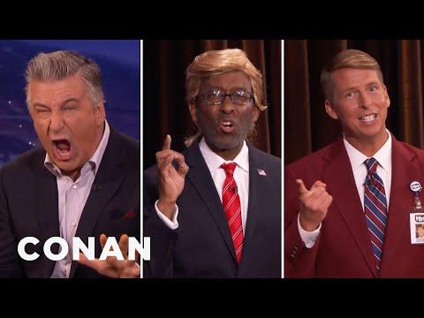 CONAN Staffers Challenge Alec Baldwin To A Trump Off  - CONAN on TBS